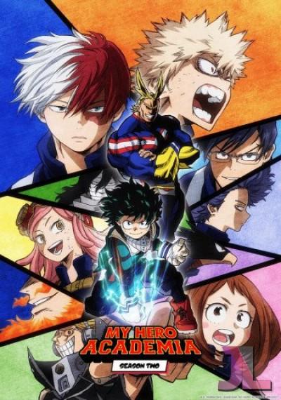 Boku no Hero Academia Season 2 online