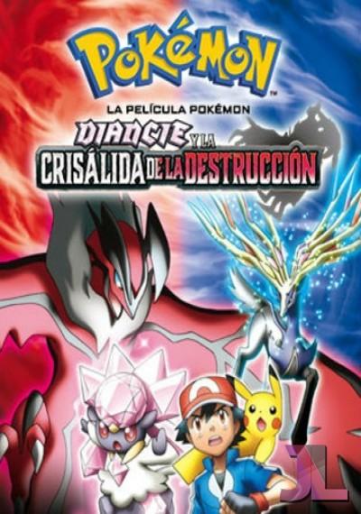 Pokémon XY: Diancie y la crisálida de la destrucción online